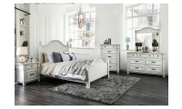 Daria Bedroom Set in Antique White