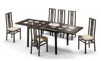 Poker Dom Italia Expandable Dining Room Set
