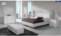 Emily Modern White Bedroom Set by Dupen, Spain