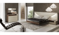 Elena Bedroom Set in Two Tone by Garcia Sabate