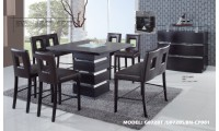 G072BT Modern Bar Height 5 Piece Dining Set