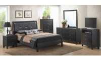 Black Wood Bedroom Set G1250A Glory Furniture
