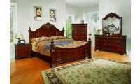 Solid Wood Cherry Poster Bedroom Set G2200A