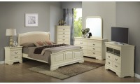 G3175C Beige Finish Bedroom Set by Glory Furniture