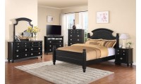G5925A Black Poster Traditional Bedroom Set