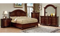 Grandom Bedroom Set in Cherry Finish