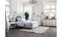 Hesperia Bedroom Set in Antique White