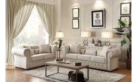 Homelegance Savonburg Living Room Set in Fabric