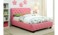 Juilliard Platform Bed in Pink Color