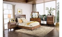 Kallisto Bedroom Set in Chestnut Brown