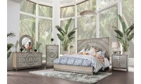 Kamalah Bedroom Set in Antique Gray