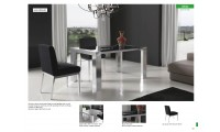 Leidy Table Lily Chairs Dining Set Marcelo Ibanez Spain