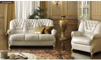Leonardo Italian Living Room Set with Swarovski