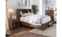 Mcallen Bedroom Set in Weathered Light Oak