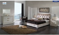 Miriam Bedroom Set Microfiber Storage Bed