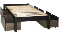 Palace Imports Solid Wood Montana Platform Bed in 2 Colors