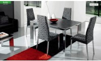 Nadia Dining Room Set with Easy to Clean Table Top