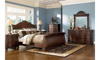North Shore Sleigh Bedroom Set B553 by Ashley Furniture