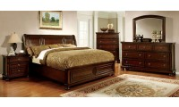 Northville Bedroom Set in Dark Cherry Finish