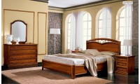 Nostalgia Composition 6 Walnut Wood Italian Bedroom Set