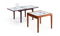 Poker Italian Dining Room Set in Cherry Finish