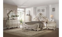 Ragenardus Antique White Bedroom Set