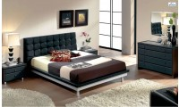 603 Toledo Modern Bedroom Set in Black Finish
