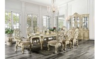 Tuscany II Antique White Dining Room Set