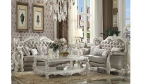 Versailles Living Room Set in Vintage Gray