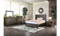 Westhope Bedroom Set in Dark Walnut