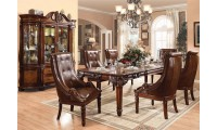 Winfred Traditional Dining Room Set in Cherry