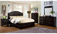 Winsor Bedroom Set in Espresso Finish
