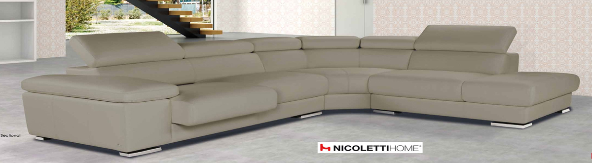 Pacifico Nicoletti Sectional Sofa