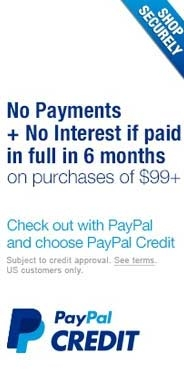 PayPal Financing Option